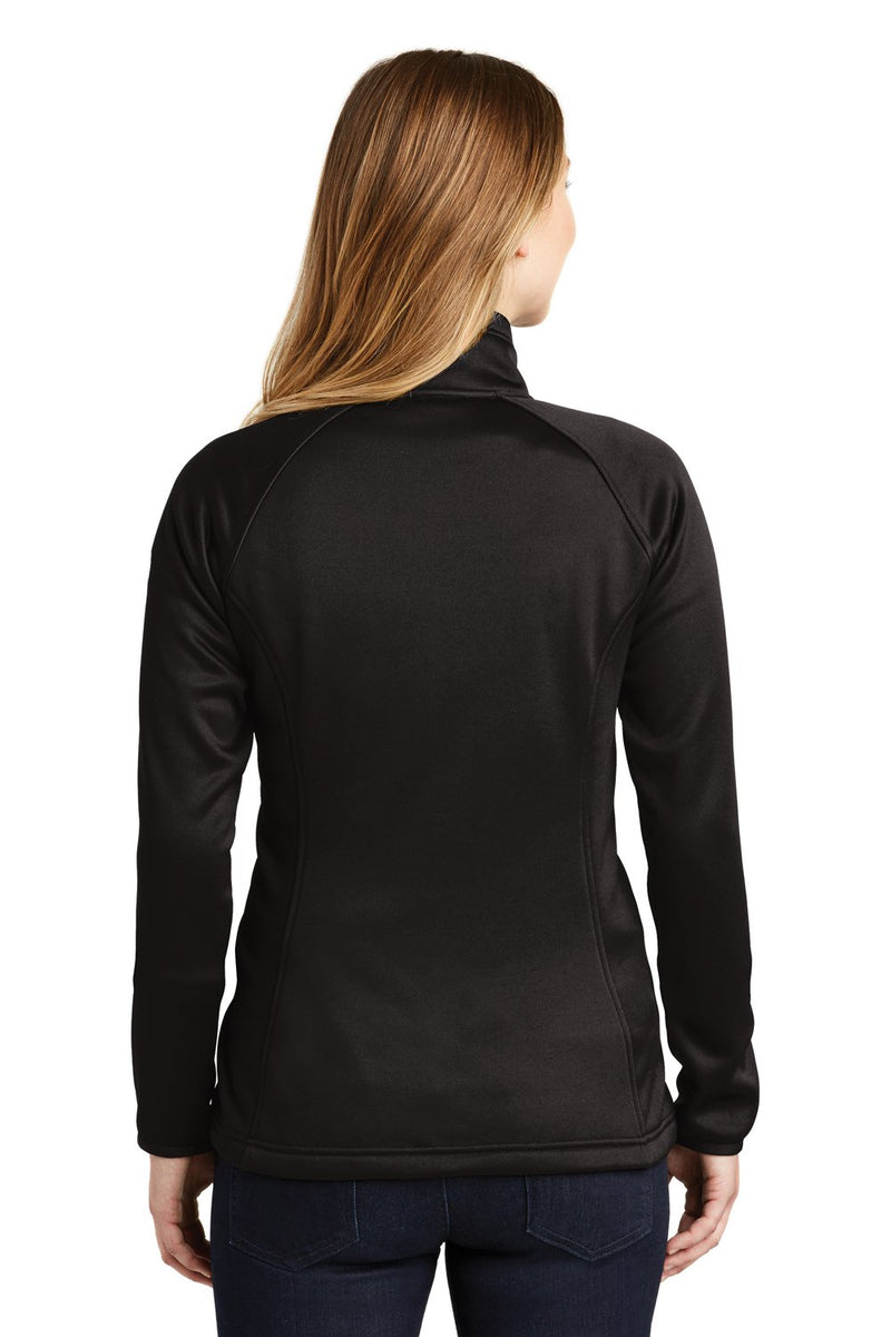 Black The North Face Women's Canyon Flats Full Zip Fleece Jacket