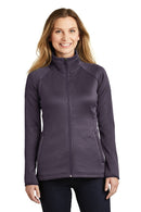 Dark Slate Gray The North Face Women's Canyon Flats Full Zip Fleece Jacket