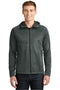 White The North Face Men's Canyon Flats Full Zip Fleece Hooded Jacket