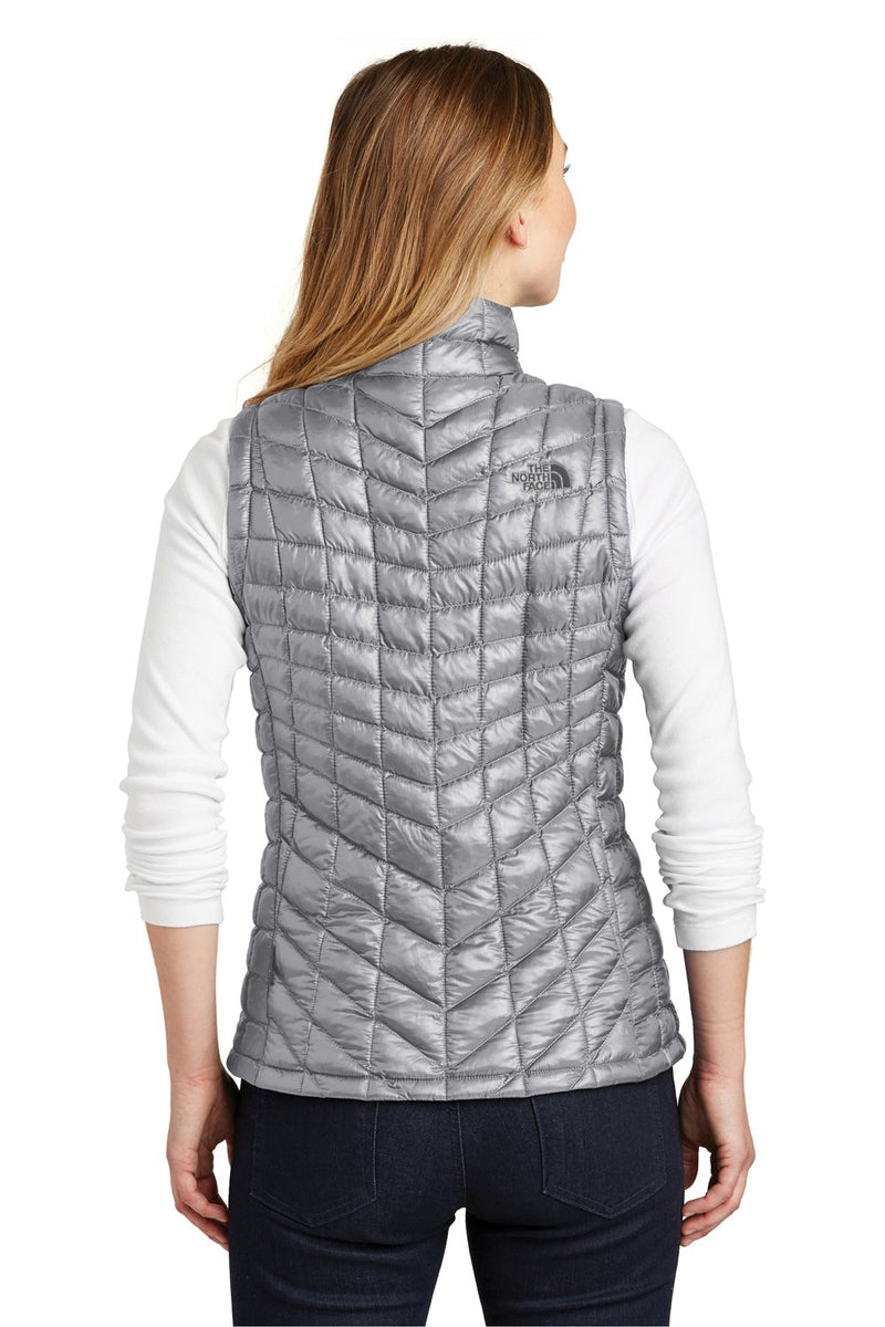 Dark Gray The North Face Women's ThermoBall Trekker Water Resistant Full Zip Vest