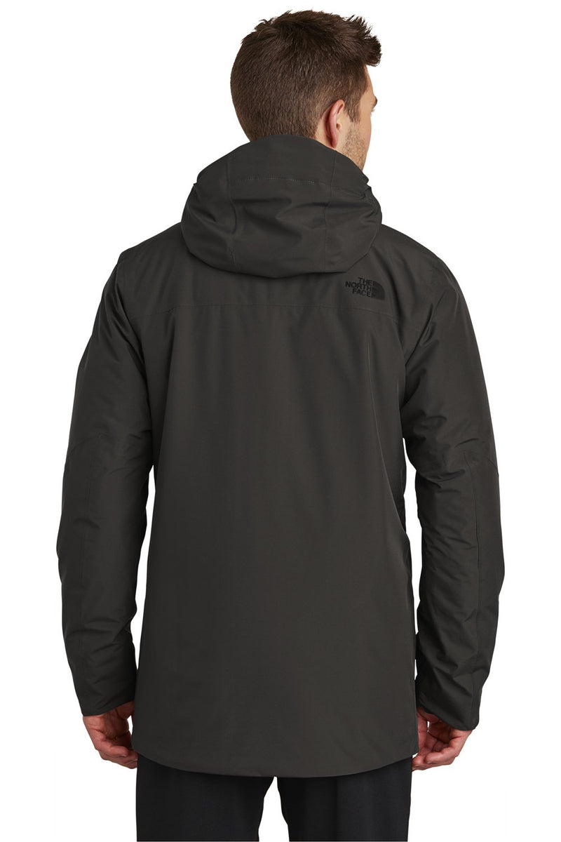 The North Face Men's Ascendent Waterproof Full Zip Hooded Jacket