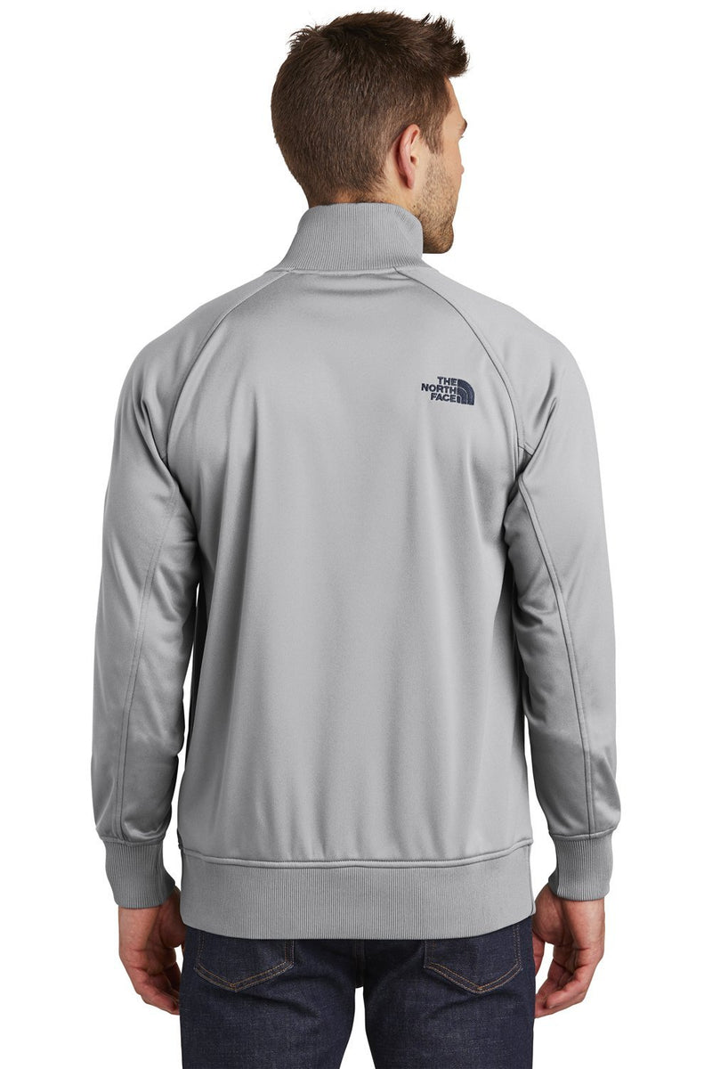 Gray The North Face Men's Tech Full Zip Fleece Jacket