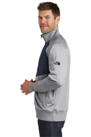 White The North Face Men's Tech Full Zip Fleece Jacket
