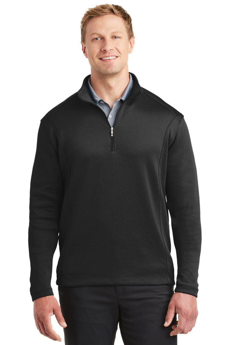 Nike Mens 1/4 Zip Sweatshirt 400099 Mens Sweatshirts Nike XS Black