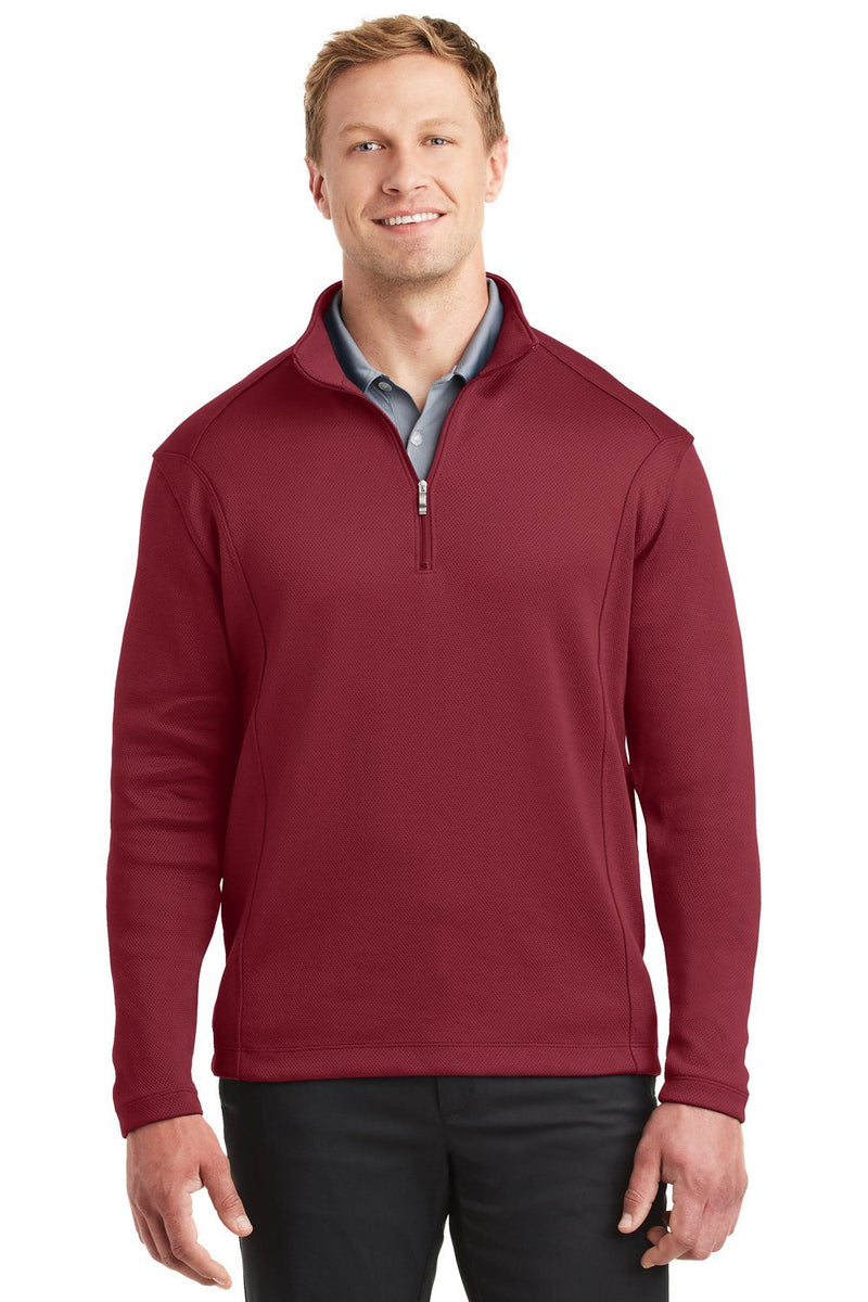 Nike Mens 1/4 Zip Sweatshirt 400099 Mens Sweatshirts Nike XS Team Red