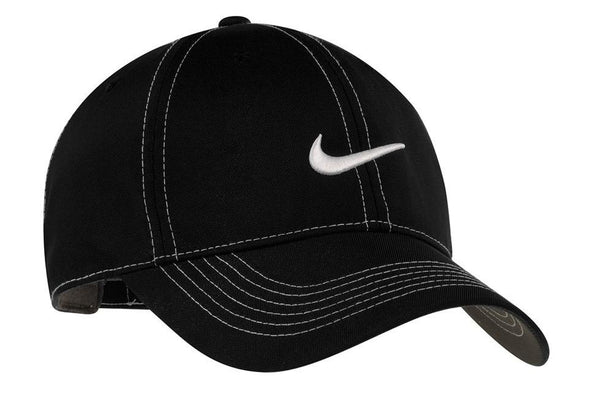 Nike Mens Adjustable Hat 333114 Hats Nike One Size Fits All Black