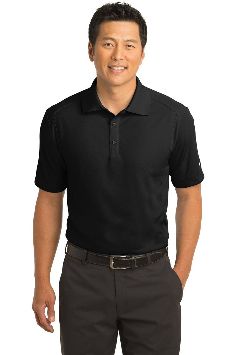 Nike Mens Classic Dri-Fit Moisture Wicking Short Sleeve Polo Shirt Mens Polo Shirts Nike XS Black