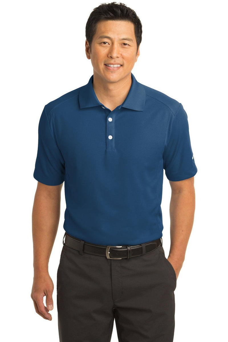 Nike Mens Classic Dri-Fit Moisture Wicking Short Sleeve Polo Shirt Mens Polo Shirts Nike XS Court Blue
