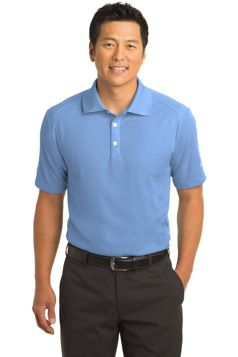 Nike Mens Classic Dri-Fit Moisture Wicking Short Sleeve Polo Shirt Mens Polo Shirts Nike XS Light Blue