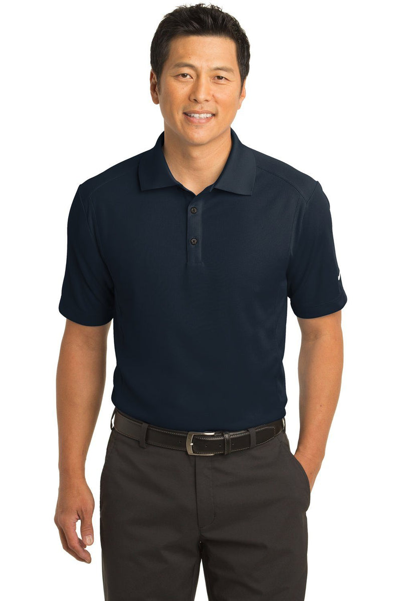 Nike Mens Classic Dri-Fit Moisture Wicking Short Sleeve Polo Shirt Mens Polo Shirts Nike XS Navy Blue