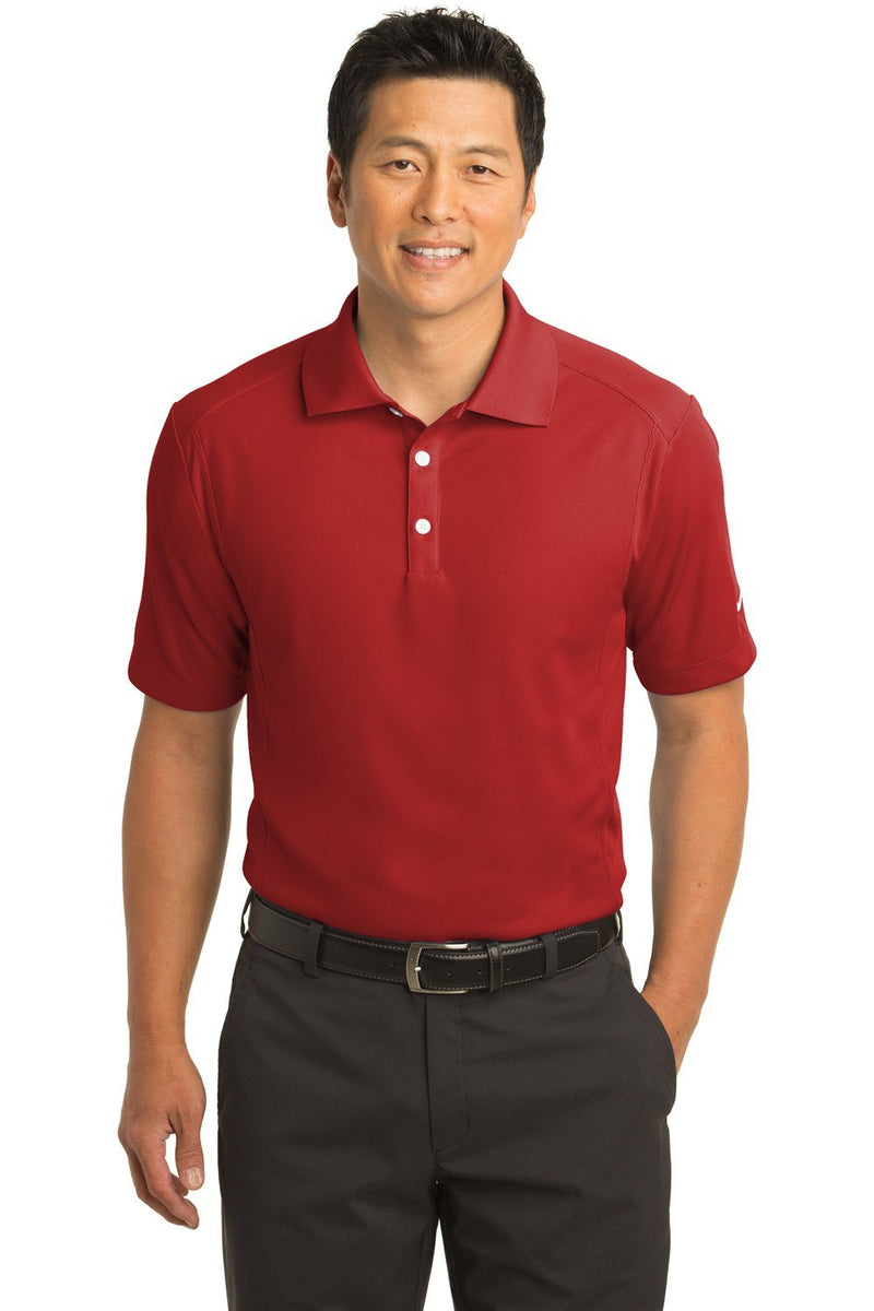Nike Mens Classic Dri-Fit Moisture Wicking Short Sleeve Polo Shirt Mens Polo Shirts Nike XS Red