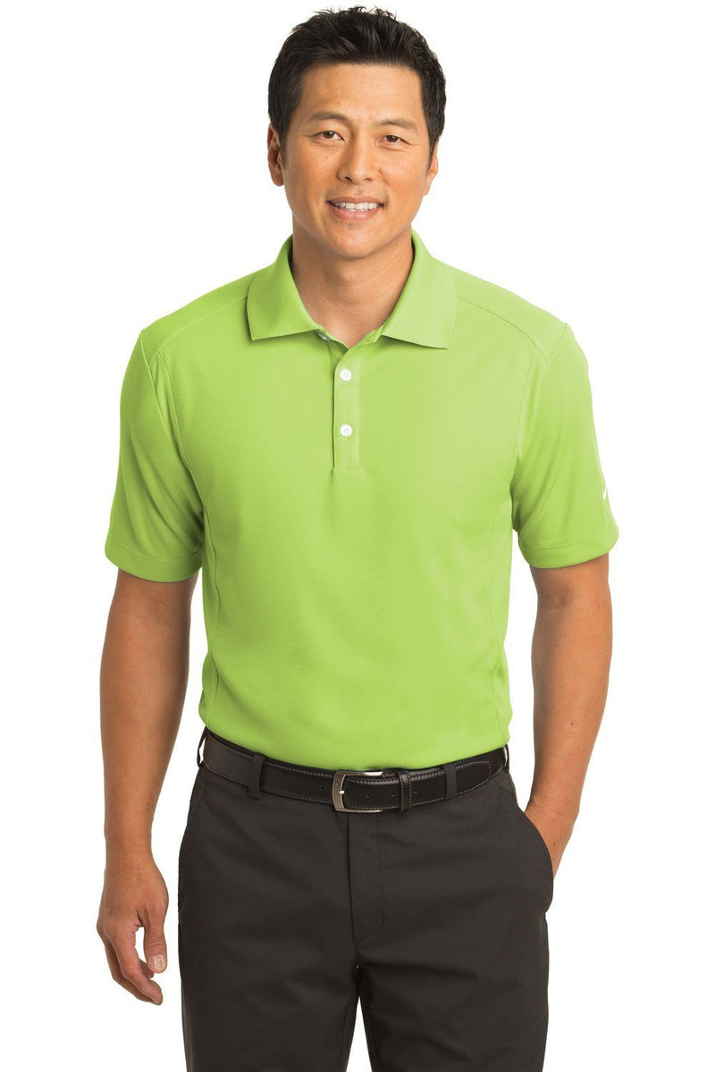 Nike Mens Classic Dri-Fit Moisture Wicking Short Sleeve Polo Shirt Mens Polo Shirts Nike XS Vivid Green