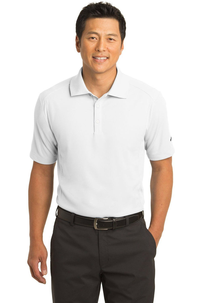 Nike Mens Classic Dri-Fit Moisture Wicking Short Sleeve Polo Shirt Mens Polo Shirts Nike XS White
