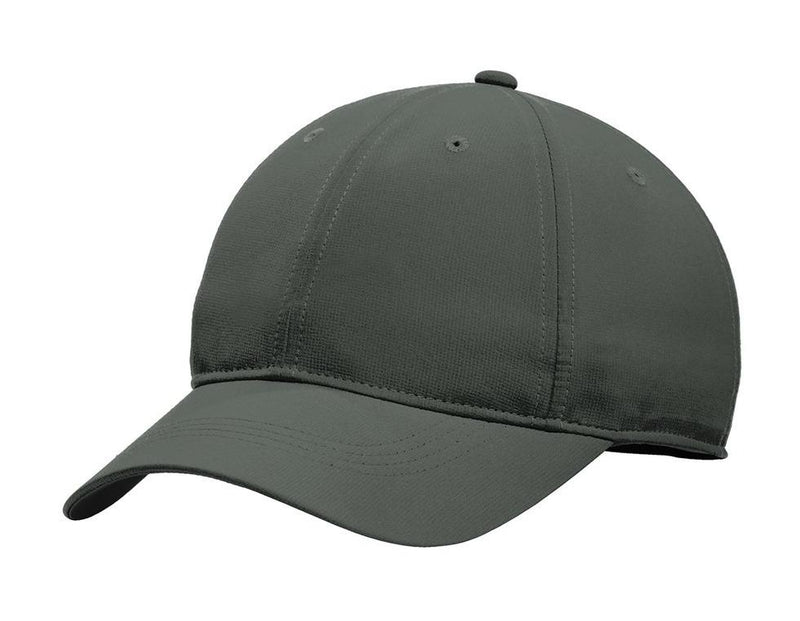Nike Mens Dri-Fit Moisture Wicking Adjustable Hat Hats Nike One Size Fits All Anthracite Grey/White