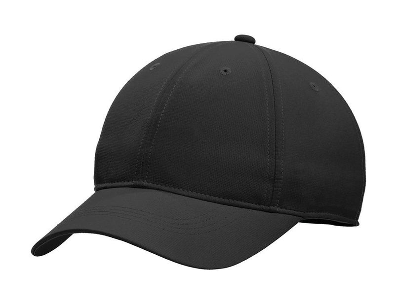 Nike Mens Dri-Fit Moisture Wicking Adjustable Hat Hats Nike One Size Fits All Black/White