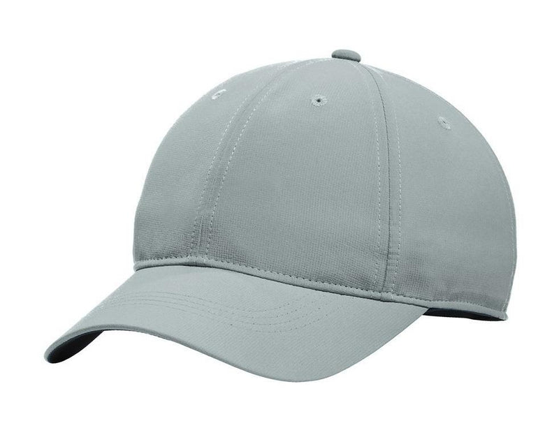 Nike Mens Dri-Fit Moisture Wicking Adjustable Hat Hats Nike One Size Fits All Cool Grey/White