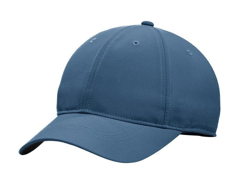 Nike Mens Dri-Fit Moisture Wicking Adjustable Hat Hats Nike One Size Fits All Navy Blue/White