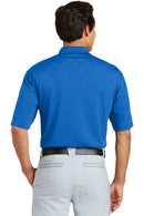 Steel Blue Nike Men's Dri-Fit Moisture Wicking Short Sleeve Polo Shirt