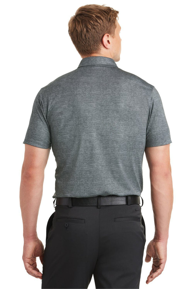 Slate Gray Nike Men's Dri-Fit Moisture Wicking Short Sleeve Polo Shirt