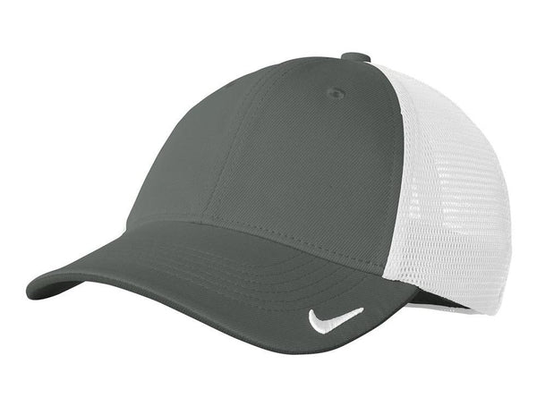 Nike Mens Dri-Fit Moisture Wicking Stretch Fit Hat Hats Nike S/M Anthracite Grey
