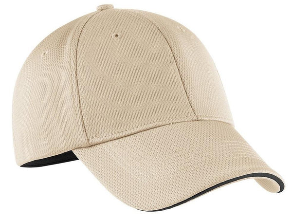 Nike Mens Dri-Fit Moisture Wicking Stretch Fit Hat Hats Nike S/M Birch Brown