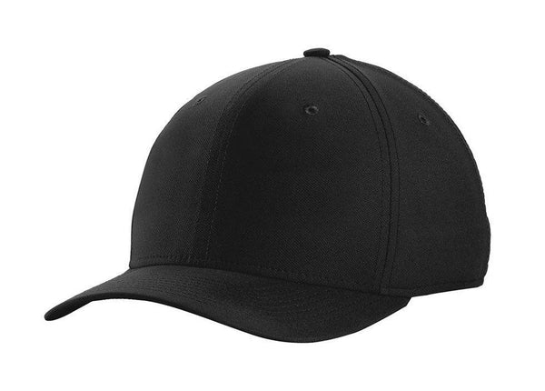 Black Nike Men's Dri-Fit Moisture Wicking Stretch Fit Hat