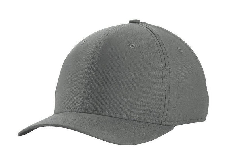Nike Mens Dri-Fit Moisture Wicking Stretch Fit Hat Hats Nike S/M Dark Grey/White