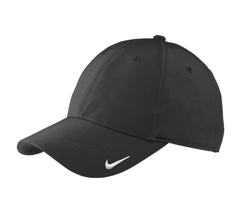 Nike Mens Moisture Wicking Adjustable Hat Hats Nike One Size Fits All Black