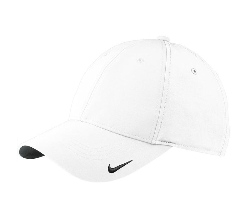 Nike Mens Moisture Wicking Adjustable Hat Hats Nike One Size Fits All White