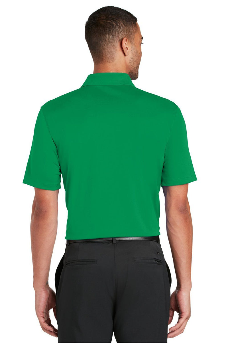 Sea Green Nike Men's Players Dri-Fit Moisture Wicking Short Sleeve Polo Shirt