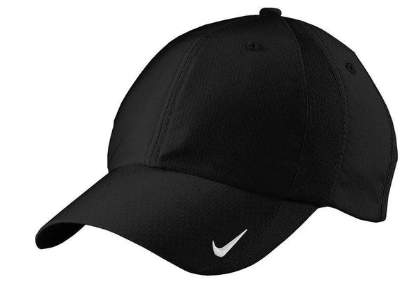 Black Nike Men's Sphere Dry Moisture Wicking Adjustable Hat