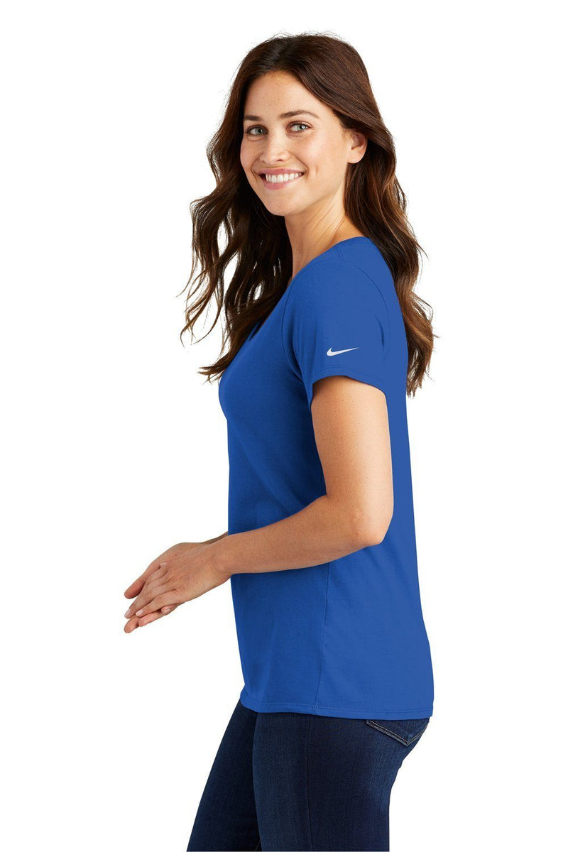 Dark Slate Blue Nike Women's Core Short Sleeve Scoop Neck T-Shirt