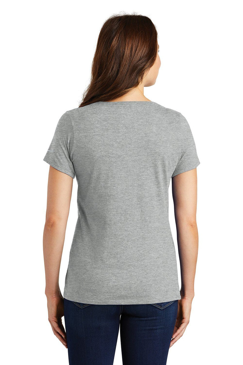 Gray Nike Women's Core Short Sleeve Scoop Neck T-Shirt