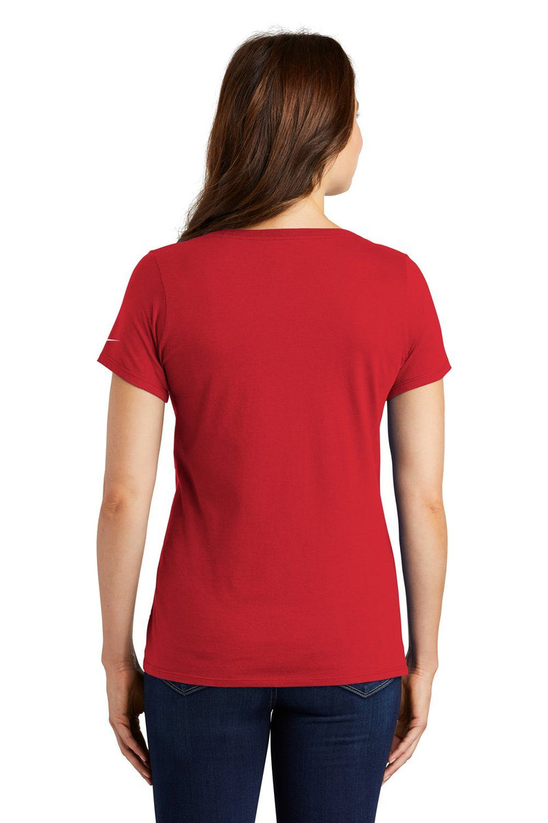 Firebrick Nike Women's Core Short Sleeve Scoop Neck T-Shirt