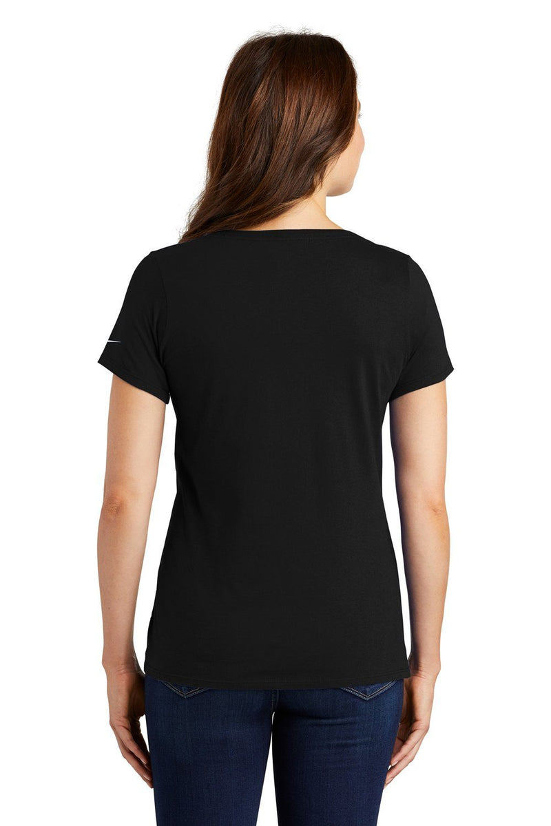 Black Nike Women's Core Short Sleeve Scoop Neck T-Shirt