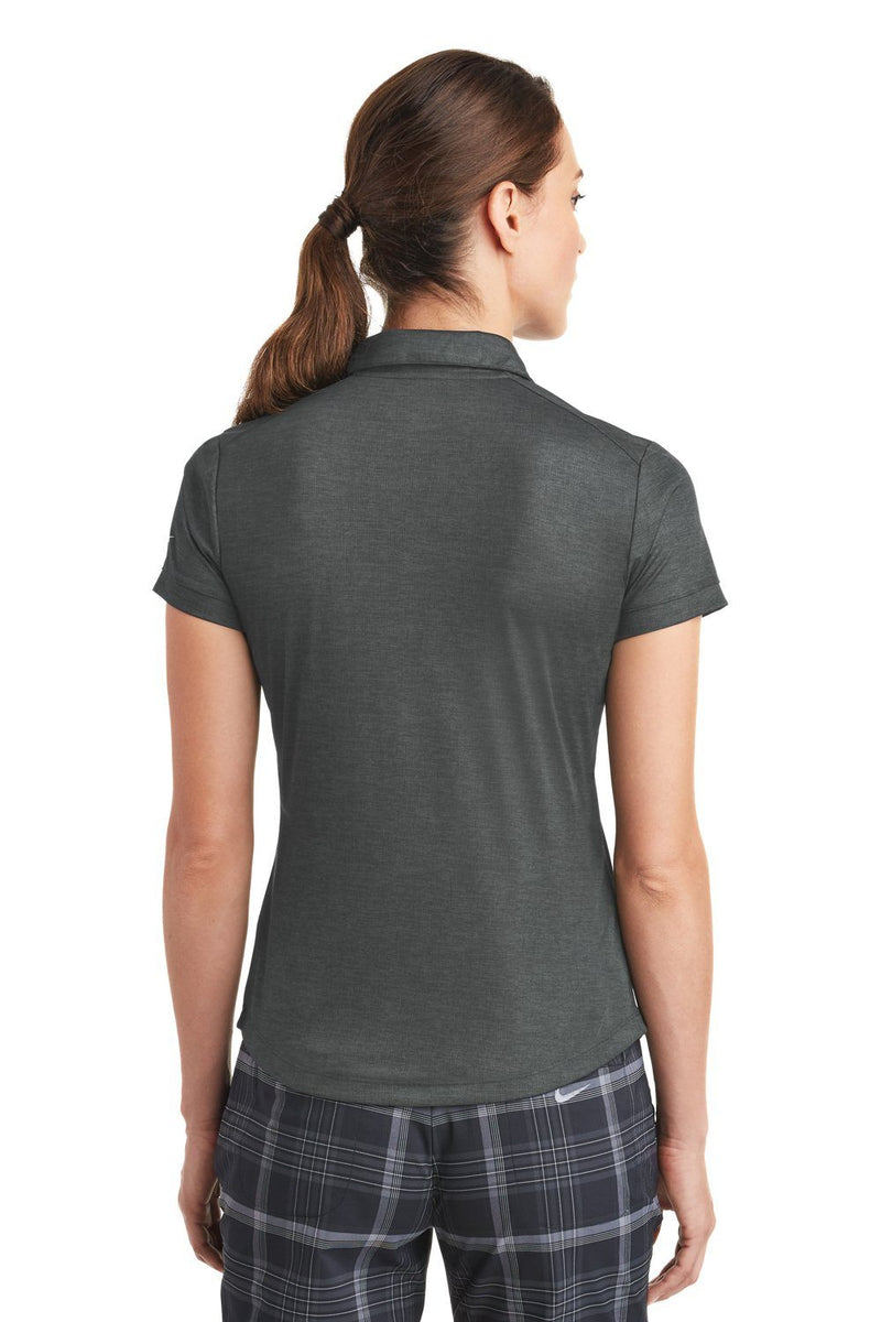 Dark Slate Gray Nike Women's Dri-Fit Moisture Wicking Short Sleeve Polo Shirt