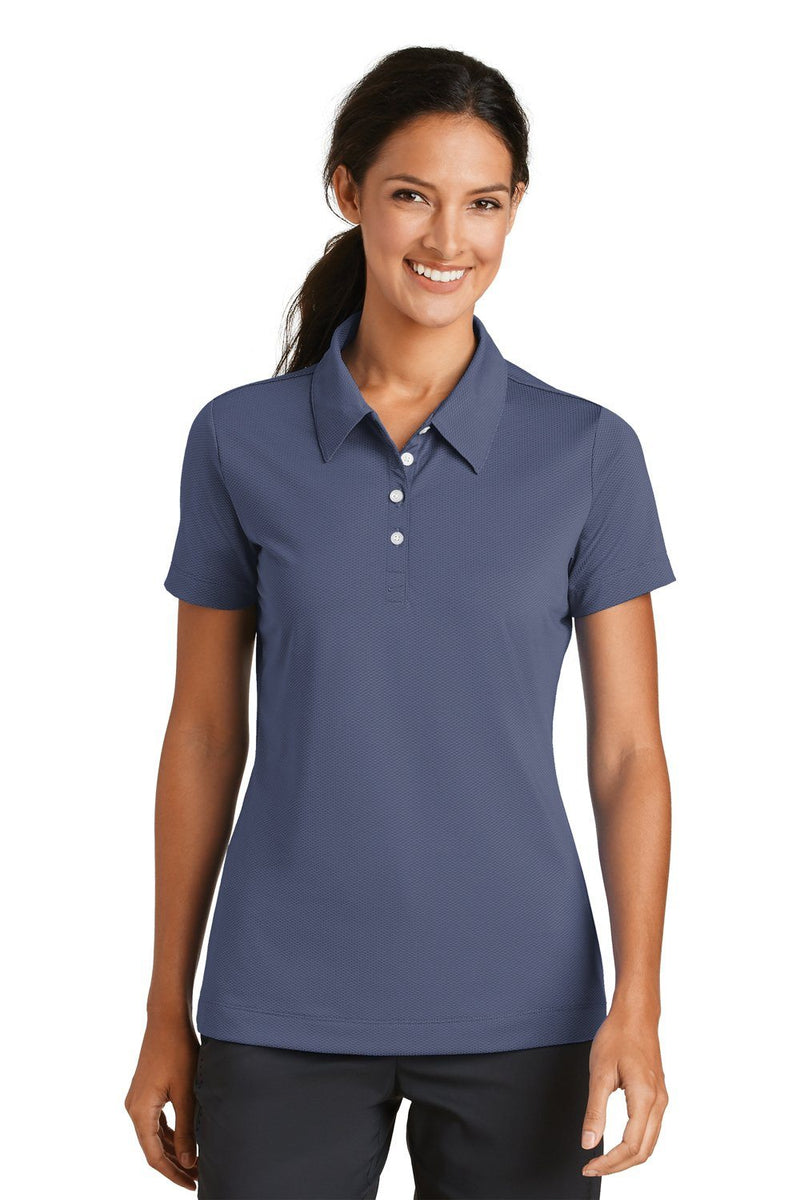 Nike Womens Sphere Dry Moisture Wicking Short Sleeve Polo Shirt Womens Polo Shirts Nike S Diffuse Blue