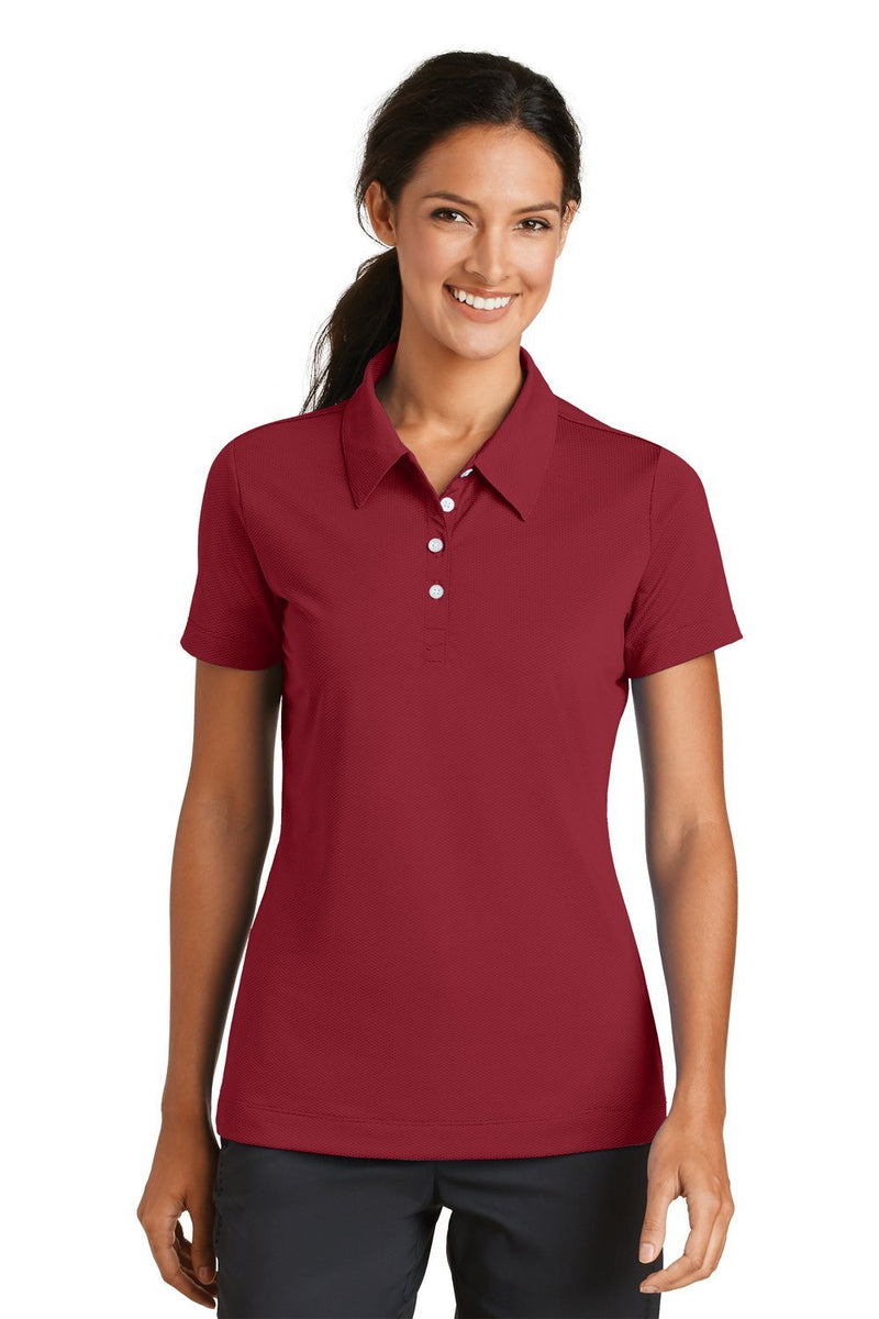 Nike Womens Sphere Dry Moisture Wicking Short Sleeve Polo Shirt Womens Polo Shirts Nike S Red