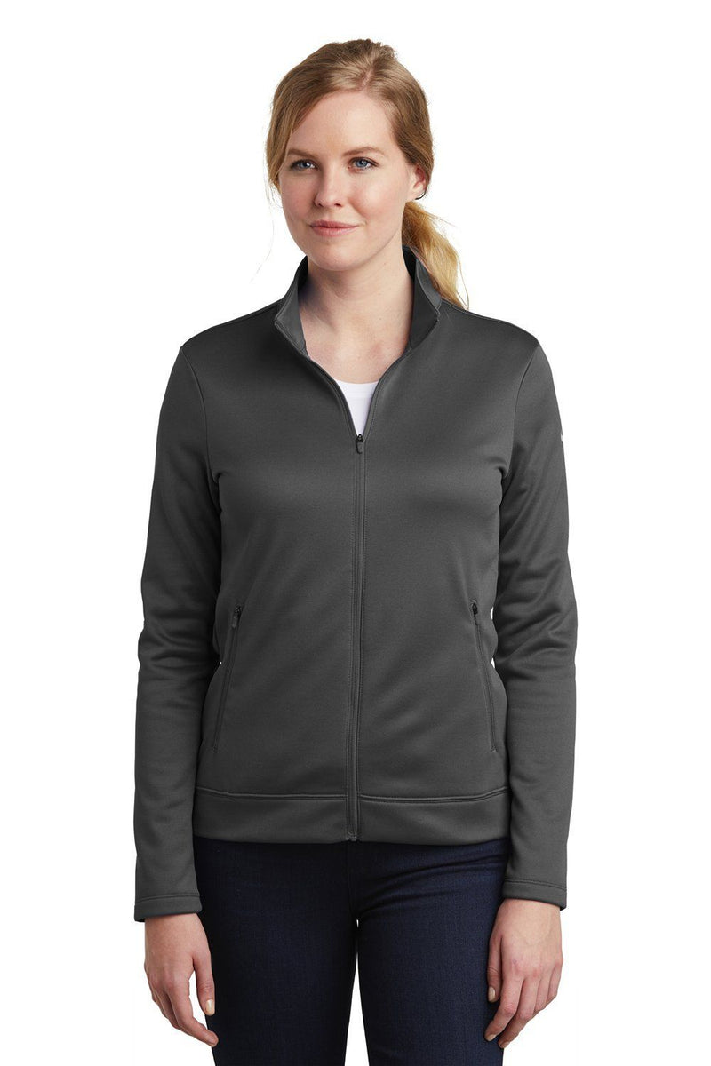 Nike Womens Therma-Fit Moisture Wicking Fleece Full Zip Sweatshirt Womens Sweatshirts Nike S Anthracite Grey