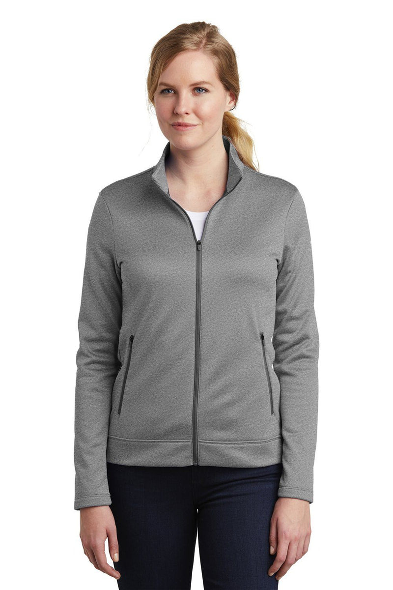 Nike Womens Therma-Fit Moisture Wicking Fleece Full Zip Sweatshirt Womens Sweatshirts Nike S Heather Grey