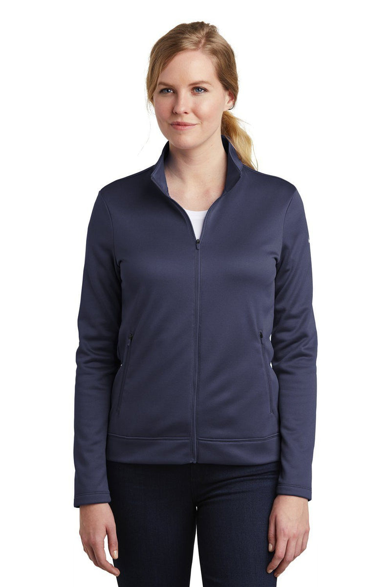 Nike Womens Therma-Fit Moisture Wicking Fleece Full Zip Sweatshirt Womens Sweatshirts Nike S Navy Blue