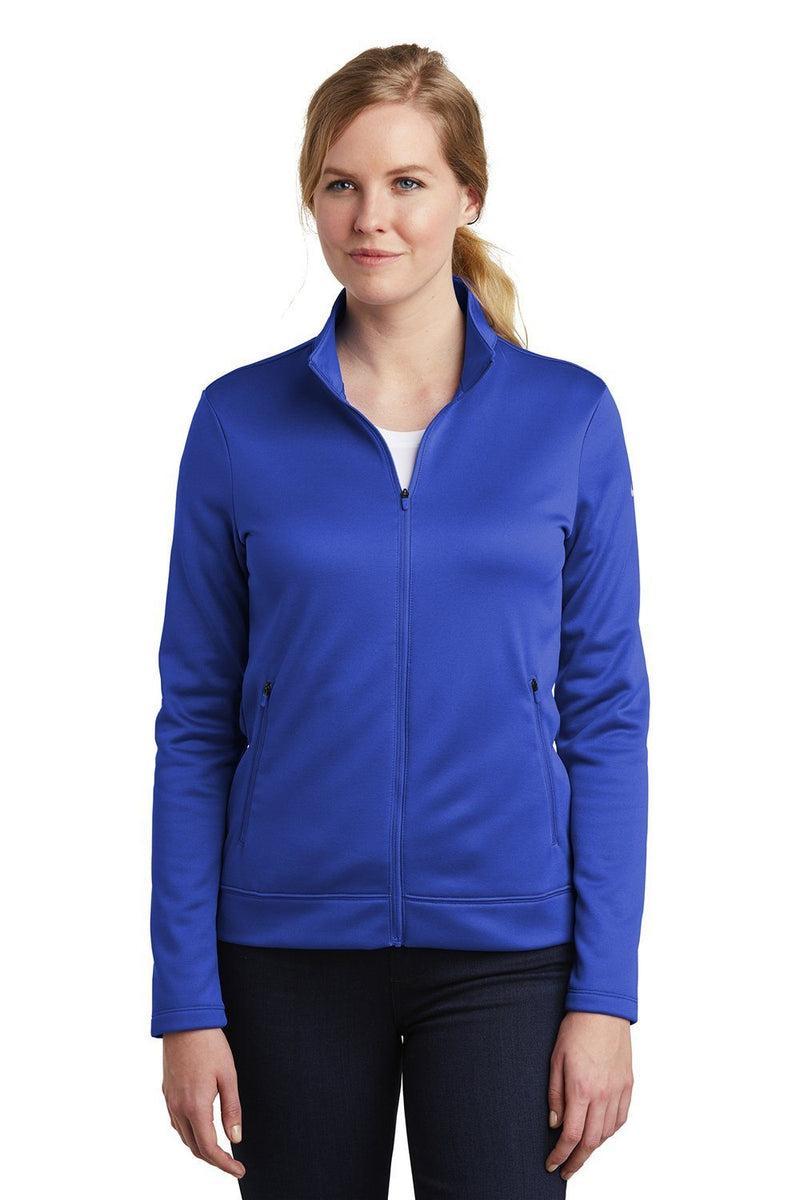 Nike Womens Therma-Fit Moisture Wicking Fleece Full Zip Sweatshirt Womens Sweatshirts Nike S Royal Blue