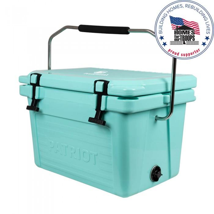 Patriot Coolers 20qt Cooler Coolers Patriot Coolers Aqua Marine