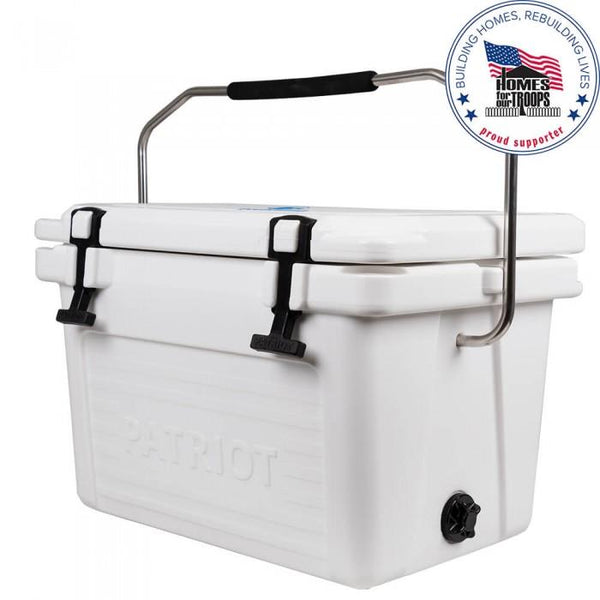 Patriot Coolers 20qt Cooler Coolers Patriot Coolers White