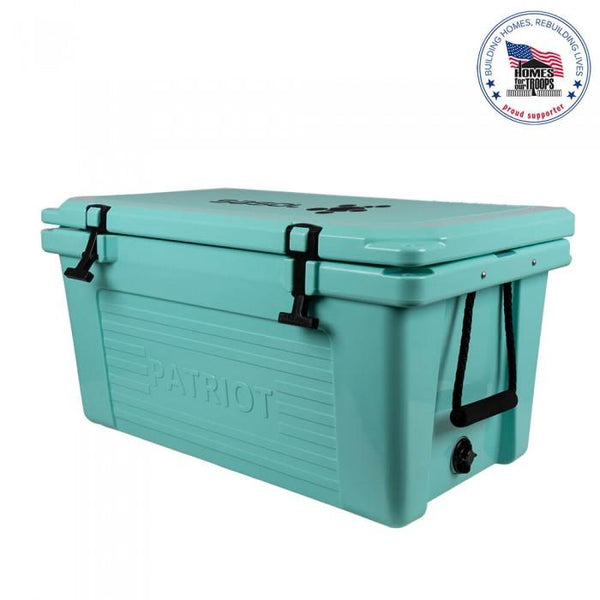 Cadet Blue Patriot Coolers 50qt Cooler