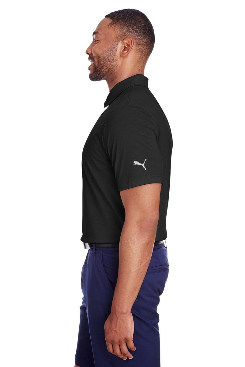 Puma Mens Fusion Performance Moisture Wicking Short Sleeve Polo Shirt Mens Polo Shirts Puma