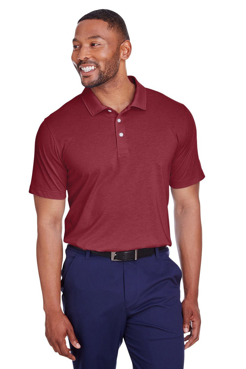 Puma Mens Fusion Performance Moisture Wicking Short Sleeve Polo Shirt Mens Polo Shirts Puma S Maroon