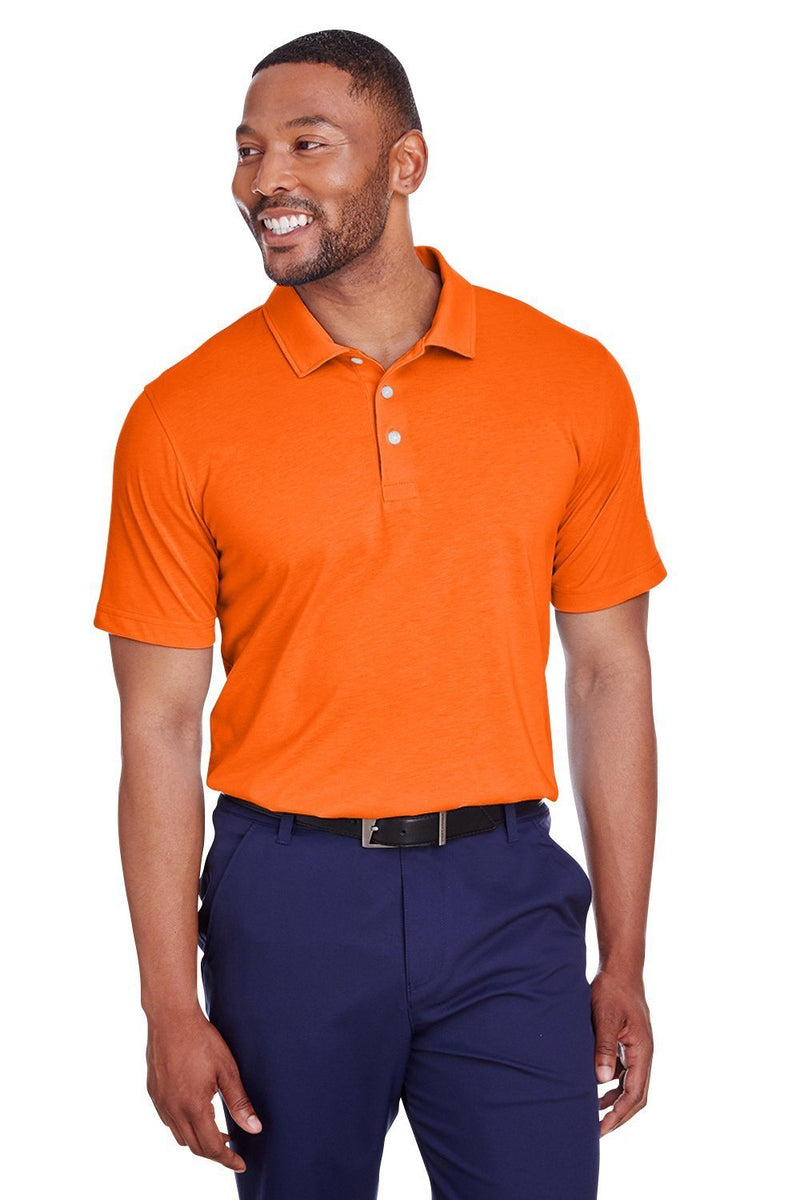 Puma Mens Fusion Performance Moisture Wicking Short Sleeve Polo Shirt Mens Polo Shirts Puma S Orange