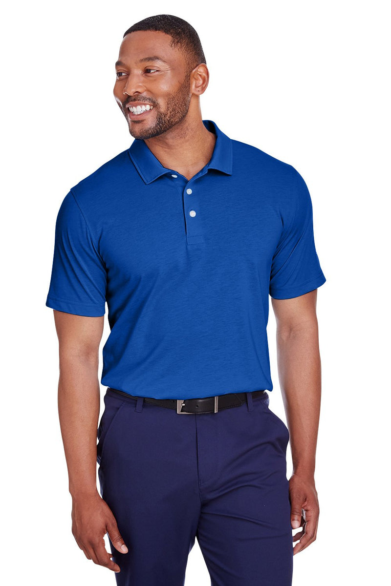 Puma Mens Fusion Performance Moisture Wicking Short Sleeve Polo Shirt Mens Polo Shirts Puma S Royal Blue