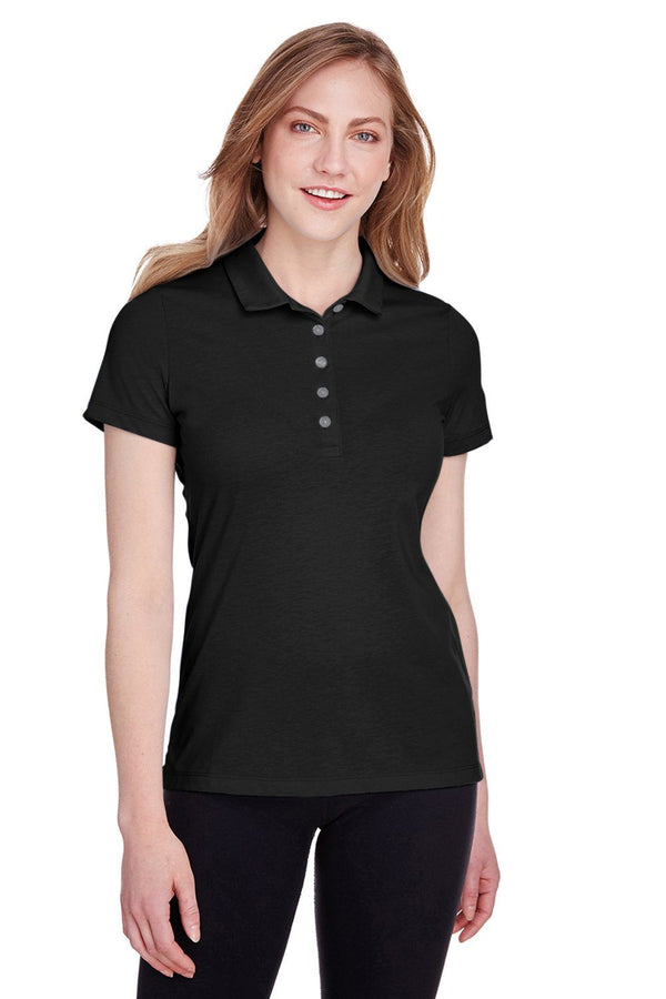 Puma Womens Fusion Performance Moisture Wicking Short Sleeve Polo Shirt Womens Polo Shirts Puma XS Black